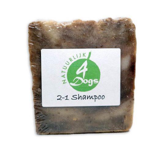 natuurlijke 2in1 shampoo hond