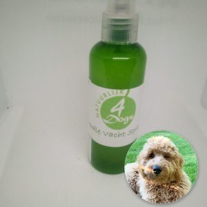 Spray met labradoodle anti klit